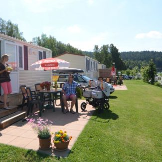 Camping Resort Frymburk - mobil homes